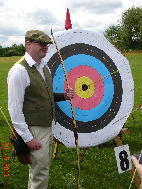 David McClaren from St. George's Archery Club in Harrogate became 'Captain of the Arrow' 2017.
